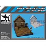 Russian village house base