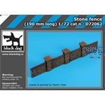 Stone fence  190mm   1/72
