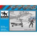 Luftwaffe Bodenpersonal Bomb loader + SC250 bomb 1