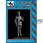 German soldier Christmas truce WW I