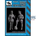 British+ German soldiers Christmas truce WW I