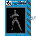 German tank crew close fight