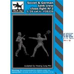 Soviet + German tank crew close fight N°2