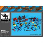 Firefighters equipment accessories set