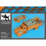 German Army Truck G917 T accessories Set