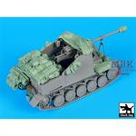 Marder II Sd Kfz 131 accessories Set  1/35