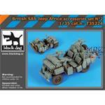 British SAS jeep Africa accessories set  1/35