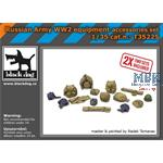 Russian Army WWII equipment accessories set 1/35