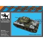Soviet heavy tank KV -1 accessories set 1/35