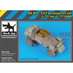 Sd. Kfz 222 accessories set