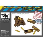 Panther ammo crate / Munition  1/72