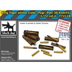 King Tiger ammo crate / Tiger II  Munition  1/72