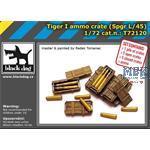 Tiger I  ammo crate /  Munition + Kisten  1/72