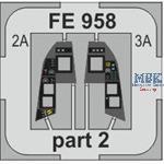 BIG ED Rafale C w/ grey seatbelts 1/48