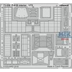 Big Ed P-61B interior 1/72