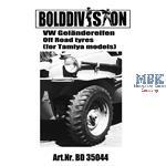 VW Schwimmwagen / Kübelwagen Off road tires