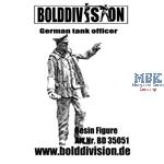 Tank officer standing