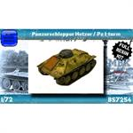 Panzerschlepper Hetzer / Pz.I Turm
