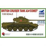 British Cruiser Tank A34 Comet
