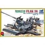 German 3,7cm Flak36 w/Sd.Anh.52