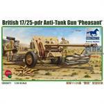 """British 17/25 pdr Anti-Tank Gun """"Pheasant"""""""