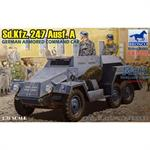 Sd.Kfz. 247 Ausf. A German armored command car