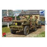 "1/4ton 4x4 Truck ""Jeep"" w/ Trailer & Airborne Crew"