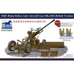 British 40mm Bofors AA Gun