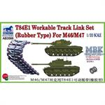 T-84E1 Workable Track (Rubber Type) for M46/47