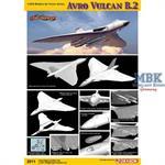 Avro Vulcan B.2 - Cyber Hobby 1:200