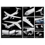 C-141B Starlifter Gulf War - Cyber Hobby 1:200