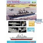 HMS Invincible - Falklands 1982 ~ Cyber Hobby