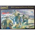 WW2 Underground Resisters/Partisans