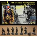 Panzergrenadiers in Winter Greatcoat Eastern Front