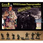 Panzergrenadier wearing Camouflage Capes