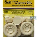 Autoblinda AB.41 wheels set