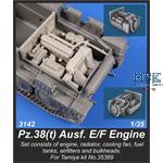 Pz.Kpfw.38(t) Ausf.E/F Engine Set, for Tamiya kit