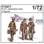 Japanische Ki 21 Besatzung