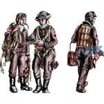 Japanese Army AF Bomber Crew Members