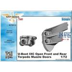 U-Boot typ IX Open front and rear Torpedo Muzzledo