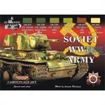 WW2 Russian Tanks Paint set