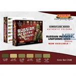 Russian Uniform Farb / Color Set