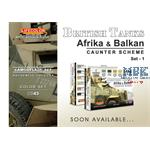 British Tanks Set 1 Balkan + Afrika Caunter Scheme
