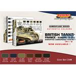 British Tanks Set 2 Europe France UK 1936-45
