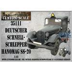 Deutscher Schnellschlepper Hanomag SS-20