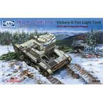 Vickers 6-Ton light tank Alt B Late - Finland