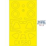 P-51B/C Mustang  Malcolm Hood 1/72  Masking Tape