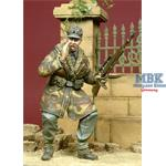 Screaming WSS Officer in Anorak 1944-1945