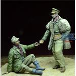 LRDG Officer & Afrikakorps POW 1941-1943