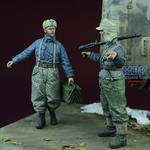 WWII Luftwaffe Ground Crew, Winter 1942-45